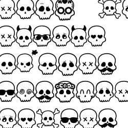 DB Skull Emojis - DB