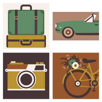 Vintage Vogue - Travel - CS