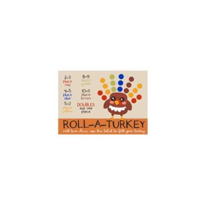 Gobble Gobble - Roll-A-Turkey - PR