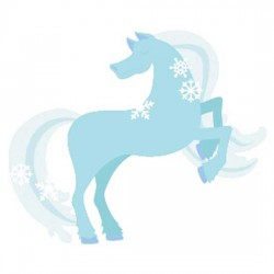 Ice Princess - Horse - CS
