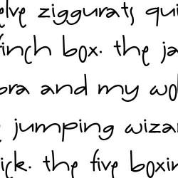 LD Patty Whack - Font