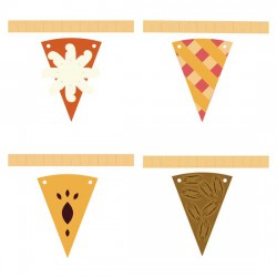 Pie Y'All - Pennants - CP