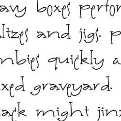 LD Patty Whack Serif - Font