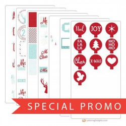 Christmas Card Elements - Promotional Bundle