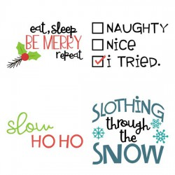 Slothmas - Sayings - GS