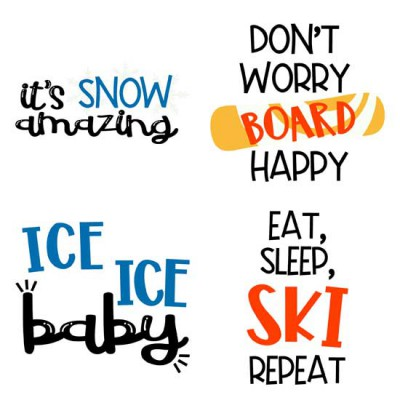 Winter Holiday - Sayings - GS
