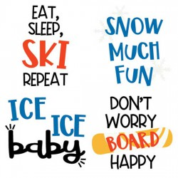Winter Holiday - Sayings - CS