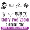 DB Starry Eyes  Zodiac - FN -  - Sample 2