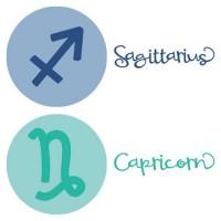 Starry Eyes - Zodiac Symbols - CS