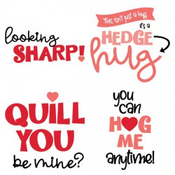 Hedge Hugs - Sayings - CS