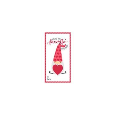 Gnomeo - Candy Heart Holder Valentine - PR