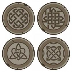 A Wee Bit Scottish - Gaelic Coins - CS