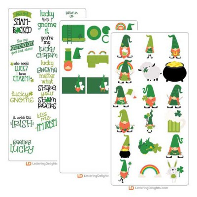 Irish Gnomes - Cut Bundle