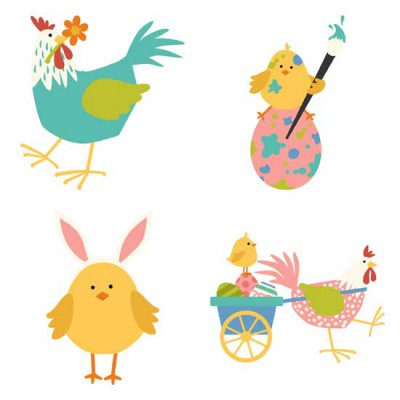 Clucks and Peeps - Easter - GS