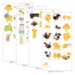 Clucks and Peeps - Cut Bundle