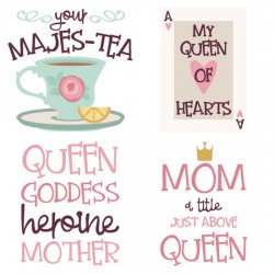 Queen of Hearts - Sayings - CS