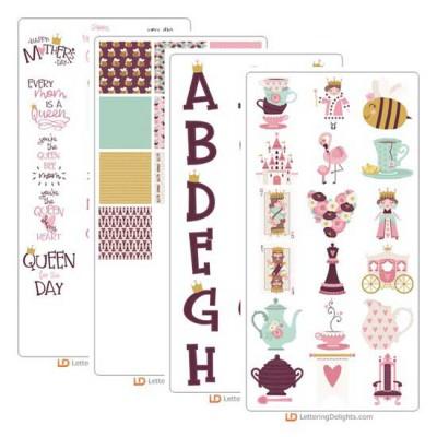 Queen of Hearts - Graphic Bundle