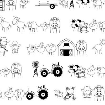 DB Stickies Farm - DB