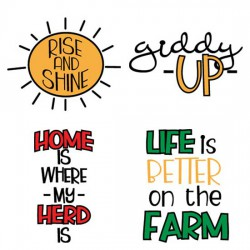 Stickies - Farm - Sayings - CS