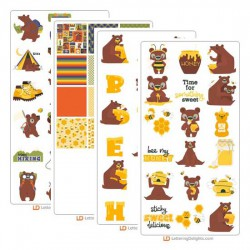 Honey Bear - Graphic Bundle