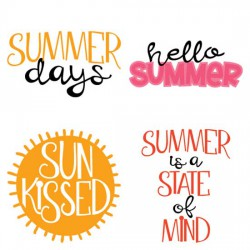 Summer Days - Phrases - CS
