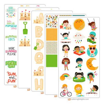 Summer Days - Graphic Bundle