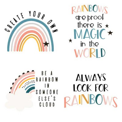 Chasing Rainbows - Sayings - GS