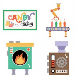 Candy Factory - Build - A - Factory - GS