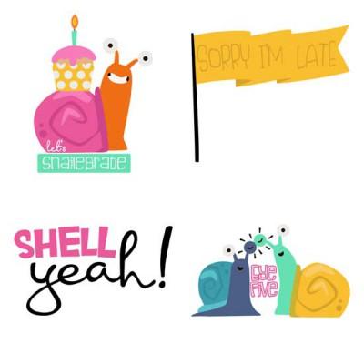 Snailed It - Puns - GS