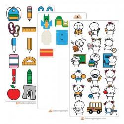 Stickies School - Cut Bundle