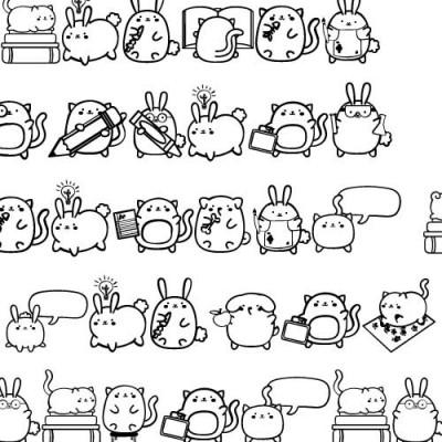 DB - Chubby Class Pets - DB