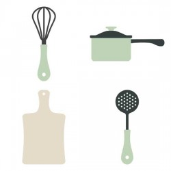 Let's Cook - Cookery and Cutlery - GS