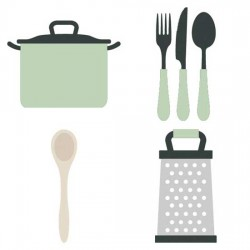 Let's Cook - Cookery and Cutlery - CS