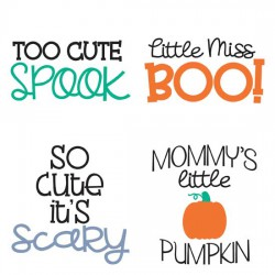 Pipsqueaks Halloween - Phrases - GS