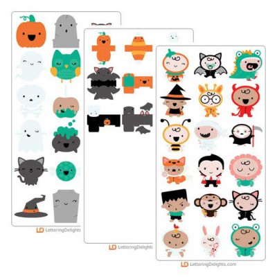 Pipsqueaks Halloween - Cut Bundle