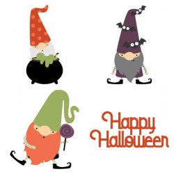 Fall Gnomes - Halloween - CS