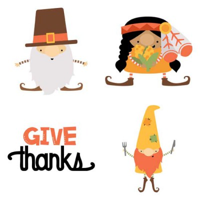 Fall Gnomes - Thanksgiving - GS