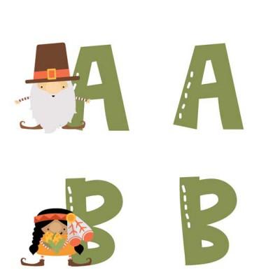 Fall Gnomes - Thanksgiving - AL