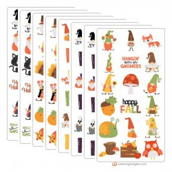 Fall Gnomes - Graphic Bundle