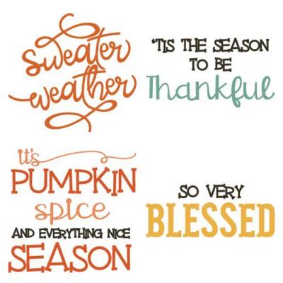Fall Favorites - Sayings - CS