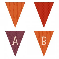 Woodland Critters - Pennants - PR