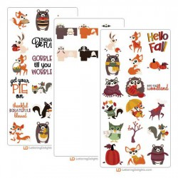 Woodland Critters - Cut Bundle