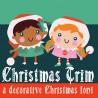 ZP Christmas Trim - FN -  - Sample 2