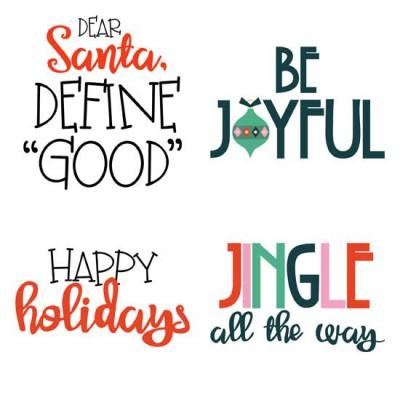 Santa's Workshop - Sayings - GS