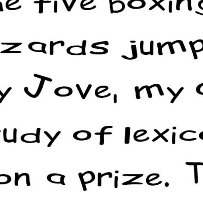 LDJ Playtime - Font