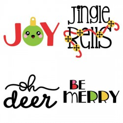 Kawaii Christmas - Sayings - CS