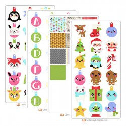 Kawaii Christmas - Graphics Bundle