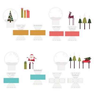 Merry Snowglobes - CP