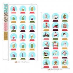 Merry Snowglobes - Graphic Bundle