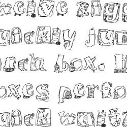 LDJ Back to School - Font